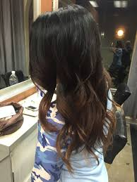 light brown highlights on dark hair balayage hairstyles for black hair