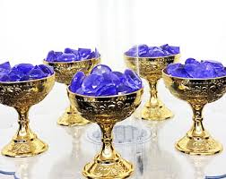 new purple and gold baby shower crown centerpiece royal