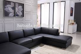 sofa u promotional large leather sofa u shape large leather sofa black