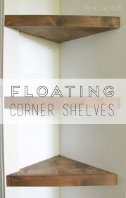 awesome design how to build corner shelves brilliant make floating
