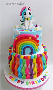 recipe how to make a rainbow cake tutorial cakes pinterest