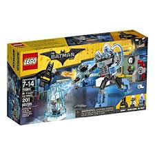 amazon lego batman movie freeze ice attack 70901 building
