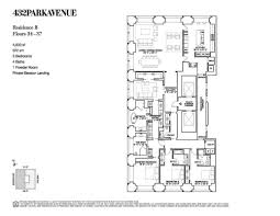 Gracie Mansion Floor Plan by 432 Park Avenue Records Its First Blockbuster Closing At 18 1m