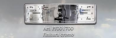 porta targa auto pf001700 portatarga germania 46 x 11 2 cm 460 x 111 mm