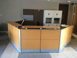 Herman Miller Reception Desk Used Office Reception Area Used Herman Miller Reception Desks At