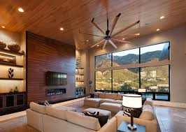 Living Room Ceiling Fans Ceiling Fan Contemporary Living Room Salt Lake City
