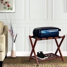 luggage racks for bedroom luggage rack bedroom folding luggage rack stand wooden suitcase