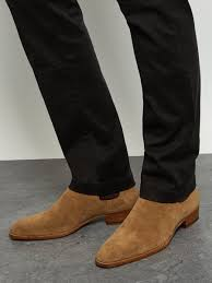 light tan suede chelsea boots latest saint laurent wyatt suede light brown chelsea boots for men