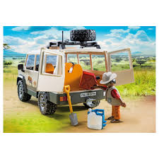 jeep safari truck playmobil safari truck with lions play set zsl shop