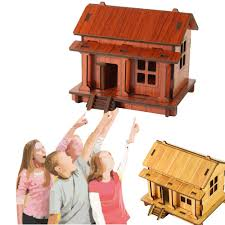 Diy House Compare Prices On 3 House Puzzle Online Shopping Buy Low Price 3
