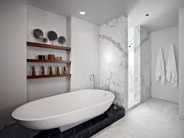san francisco stand alone tubs bathroom modern with white walls