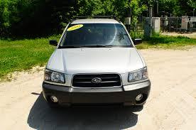 2005 subaru forester 2005 subaru forester awd silver used wagon sale