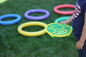 2 simple and silly backyard olympics ideas for kids toddler