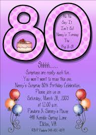 80th birthday invitation templates kawaiitheo com