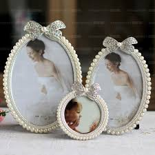 picture frame pearl photo frame high quality wedding dress photo