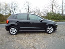 volkswagen polo black used black vw polo for sale suffolk