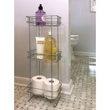 bathroom white free standing bathroom storage tower with cabinet