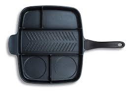 Shop Amazon Com Window Double by Amazon Com Master Pan Non Stick Divided Grill Fry Oven Meal