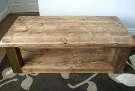 wood plank coffee table plank coffee table fieldofscreams within plan 19 sooprosports com