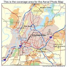 map of chattanooga tn aerial photography map of chattanooga tn tennessee