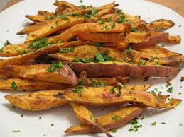 thanksgiving 2008 sweet potato fries with rosemary and garlic