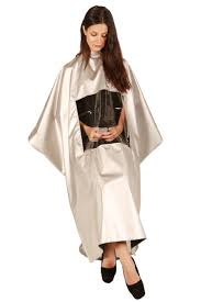 media window metalic cape salon aprons u0026 capes stylist aprons