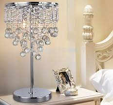 aliexpress com buy new modern luxury crystal table lamp with k9