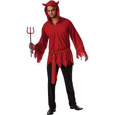 Male Halloween Costumes Devil Mens Halloween Costume Walmart Com