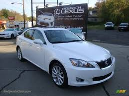 lexus white pearl 2009 lexus is 250 awd in starfire white pearl 034602 jax
