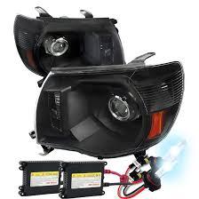toyota tacoma hid fog lights hid xenon 05 11 toyota tacoma retro style projector headlights
