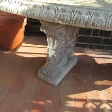 antiques atlas vintage concrete garden seat