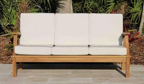 sofas center deep seat sofa sunbrella spa teak including full