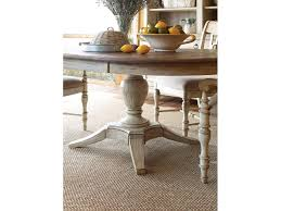 dining room weatherford milford round dining table cornsilk