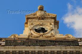 numero de chambre de commerce algiers alger algeria algérie chamber of commerce the clock