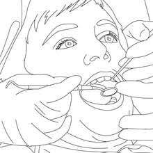 dentist coloring pages 5 free coloring pages people and their