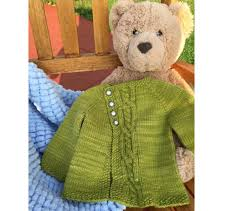 our favorite free baby sweater knitting patterns