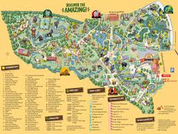 La Zoo Map Leipzig Zoo Map