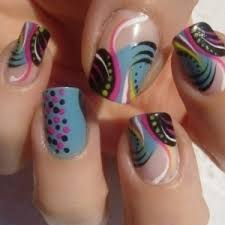cute line nail designs how to nail designs