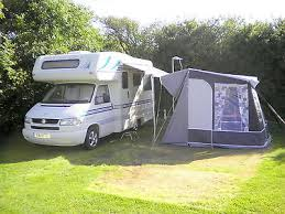 Motor Caravan Awnings Ebay Vw Compass Navigator Motorhome 4 Berth Camper Fiamma Awning
