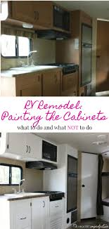 what is the best paint for rv cabinets painting rv cabinets and what i did wrong domestic