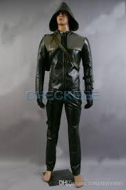 Green Arrow Halloween Costume Green Arrow Oliver Queen Cosplay Costume Custom Size