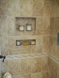 Master Bathroom Tile Ideas Photos Ceramic Shower Tile Designs Ceramic Tile Shower With 2 Inset