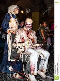 zombie nurse with wheelchair editorial photo image 72328676