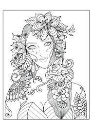 printable coloring pages for adults christmas complex roses and