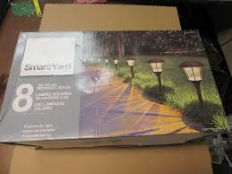 Alpan Solar Lights - new smart yard led solar pathway lights 8 pack set alpan