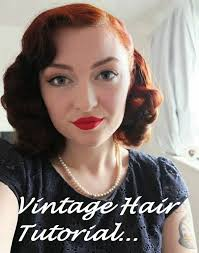 vintage curls hair tutorial with foam rollers no heat youtube