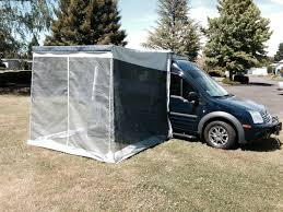 Awning Place Trim Line Awning Screen Room Zipped In Place Ford Transit Forum