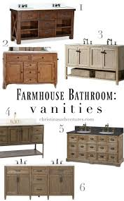 farmhouse bathroom design rustic farmhouse bathroom vanities