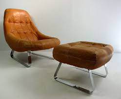 Best Leather Chair And Ottoman Gorgeous Leather Chair With Ottoman Leather Chair And