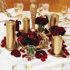 Burgundy Wedding Centerpieces by Burgundy U0026 Light Gold Oh To Inspire Pinterest Gold